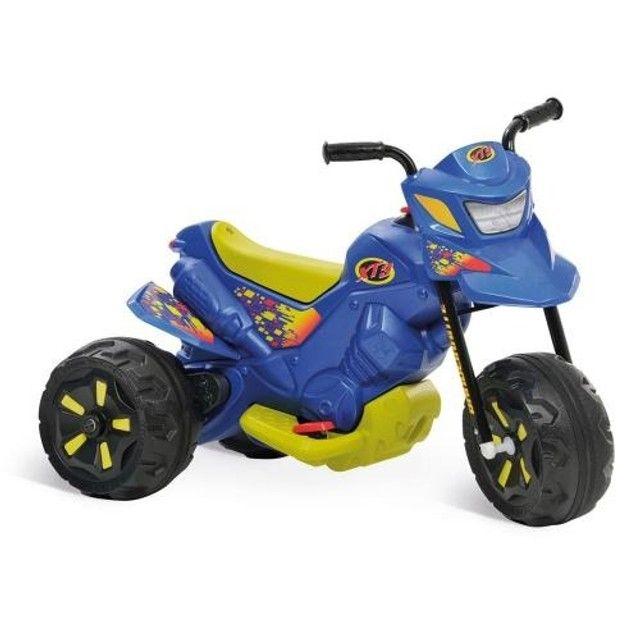 Moto Elétrica Infantil 6V XT3 Azul - Bandeirante