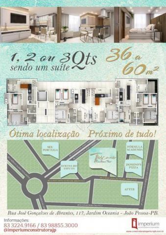 Apartamento à venda com 1 dormitórios em Jardim oceania, Joao pessoa cod:V2084 - Foto 3