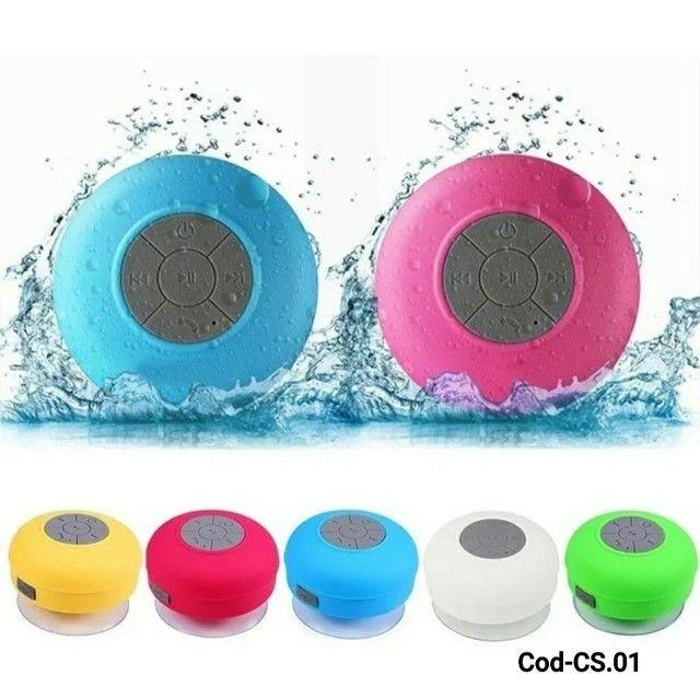 Mini caixa de Som Bluetooth Resistente à água