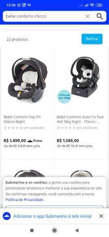Bebê conforto CHICCO com base - Foto 6