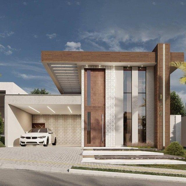 Casas em Condomínio Fechado  Alto Padrão - Executamos Projeto Arquitetônico - Foto 6