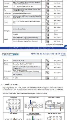 Interface para controle de Volante FaafTech  - Foto 3