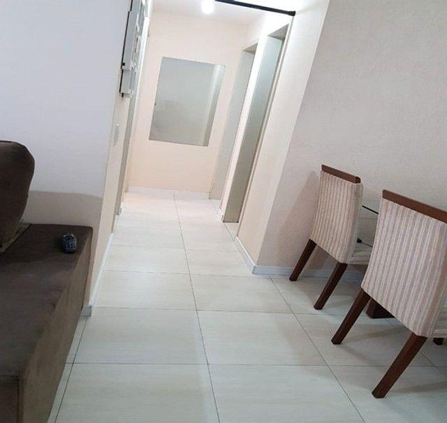 Apartamento com 3 quartos semi mobiliado_no_Fazendinha  - Foto 8