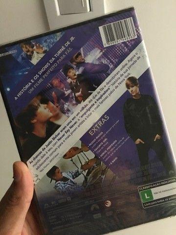 DVD  justin  Bieber lacrado  - Foto 2