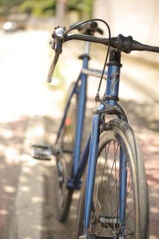 Bicicleta fixa com guidão de carbono  - Foto 4