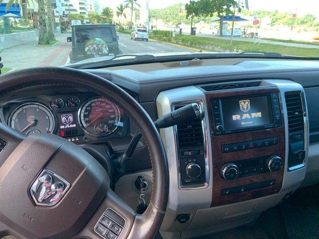 Dodge Ram interior Caramelo bege linda  - Foto 6