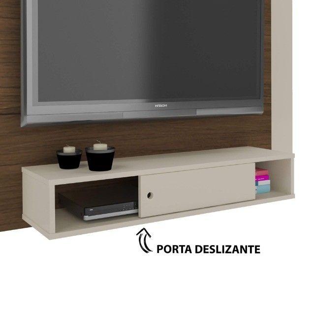 "Painel Artely Wave TV de até 50"" - Acompanha Suporte de TV - Foto 6"