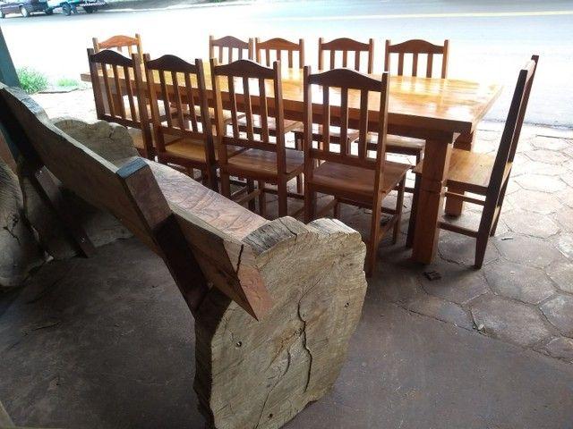 Jogo de mesa com cadeiras - Foto 3
