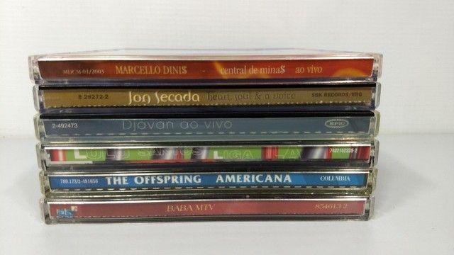 Lote 6 cds originais pop rock nacional internacional - Foto 4