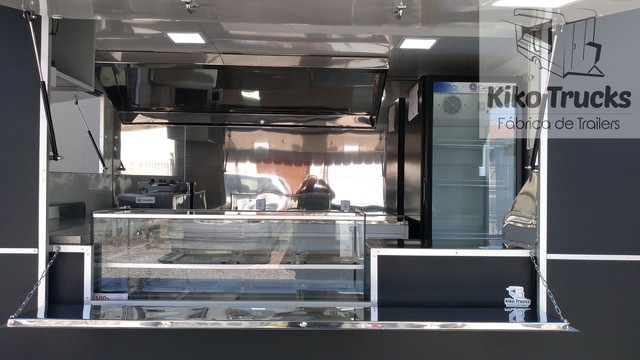Food Trailer Salgados sob encomenda - fábrica homologada Inmetro e denatran - Foto 2