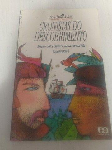 livro Cronistas do Descobrimento