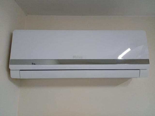 Ar condicionado split philco 12  btus,instalado