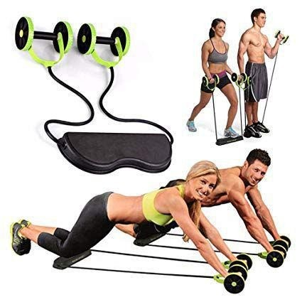 Elastico Roda Exercicio Aparelho Abdominal Revoflex Xtreme Ginastica em Casa - Foto 2