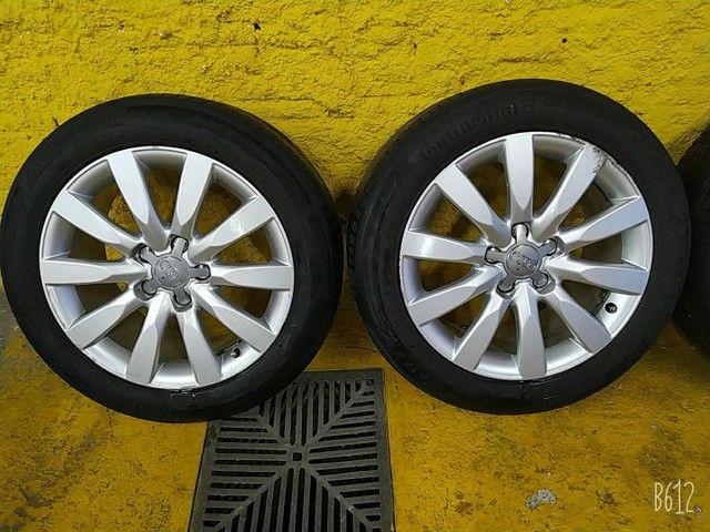 Vendo urgente rodas e pneus aro 17  - Foto 2
