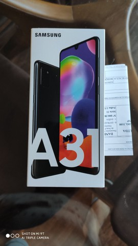 Galaxy A31 novo