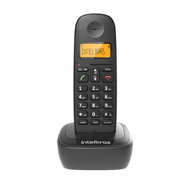 Telefone sem fio Intelbras TS 2510 preto - Foto 3
