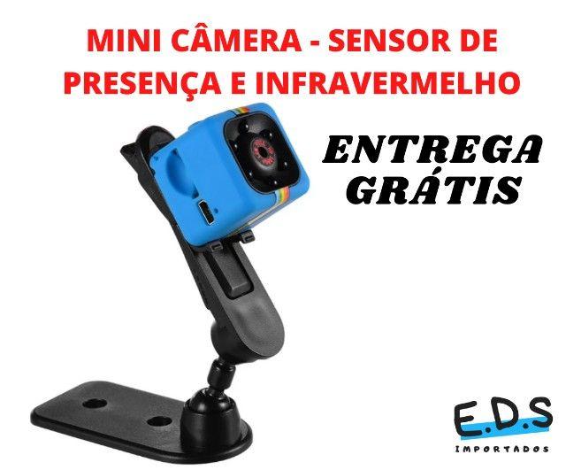 mini câmera filmadora  espiã sq11 - Foto 3