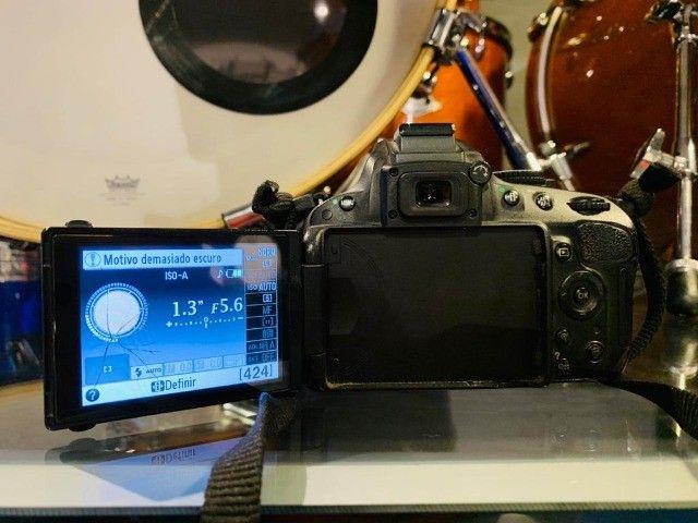 Câmera Profissional Nikon D5100 - Foto 6