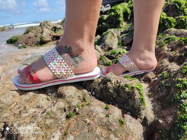 Havaianas de luxo para acabar  - Foto 3