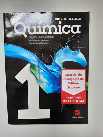 Livro Química Manual do Professor