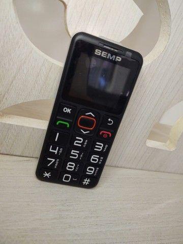 Celular teclado - SEMP celular para idosos