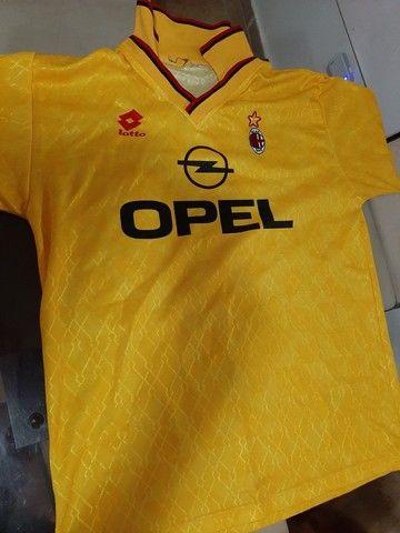 Camisas futebol clássicas Holanda,  Milan,  Bayern München e La Coruña. - Foto 3