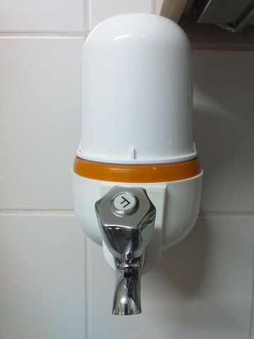 Filtro de água para cozinha + refil filtro Equation