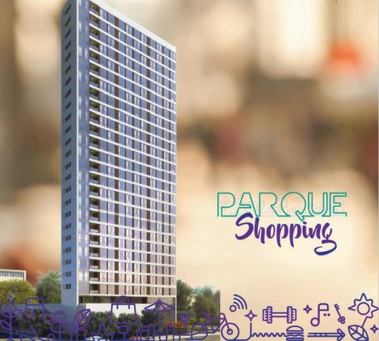 Edf Parque Shopping apartamento 1 e 2 quartos ao lado do Shopping Riomar