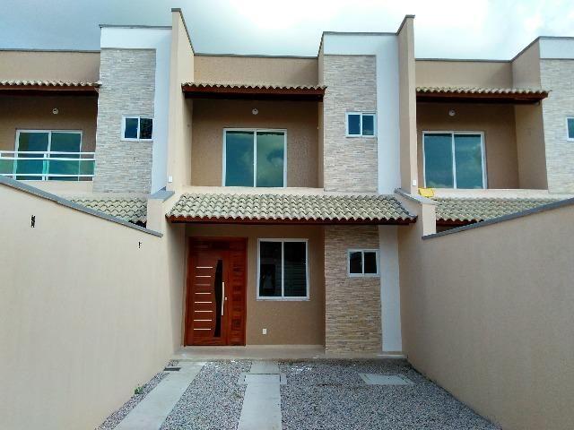 Casa Duplex-3 qts e 2 vgs . Nova Metropole - Caucaia-Fortaleza