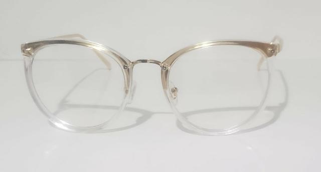 63a24936a Armação de Óculos de Grau Transparente - Novo - Bijouterias ...