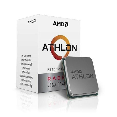 Processador AMD Athlon 200GE AM4 BOX C/ Cooler - Garantia e NF