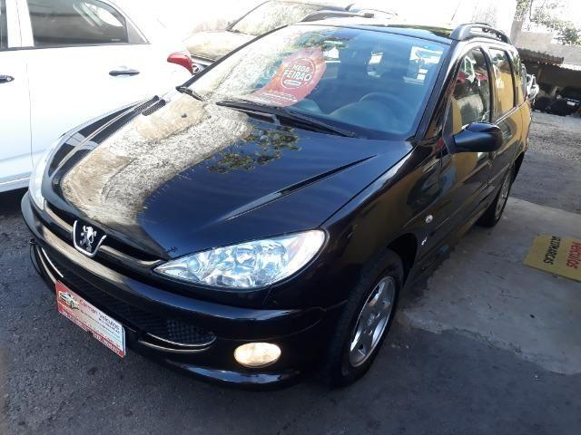 Peugeot sw feline 1.6 novissima financiamos sem entrada 20008 unico dono - Foto 3
