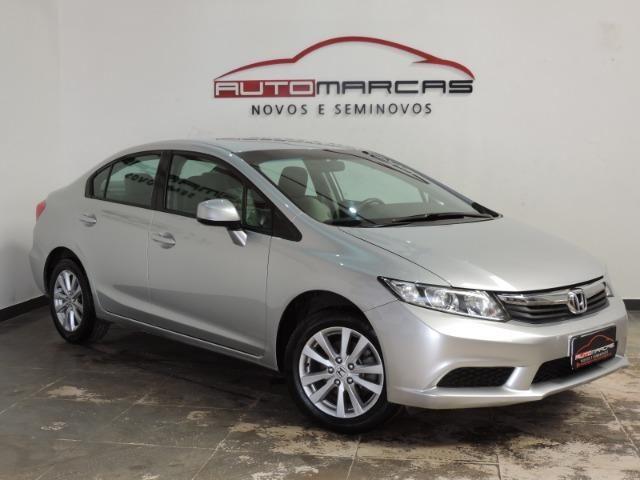 Honda Civic LXS 1.8 Flex I-Vtec Autom. _ Completo