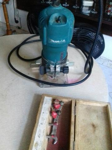 Ferramenta Elétrica traçador 250.tupia 300 Plaina 250 - Foto 5
