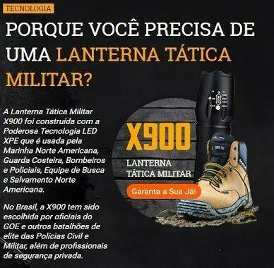 Lanterna X900 a mais potente do mercado.+ garantia + Entrega Grátis - Foto 4