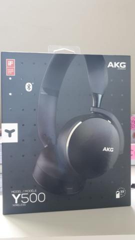 Fone AKG Y500 NOVO!