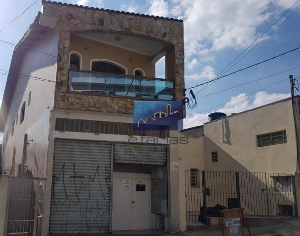 Salão para alugar, 100 m² por r$ 1.800/mês - vila guilhermina - são paulo/sp