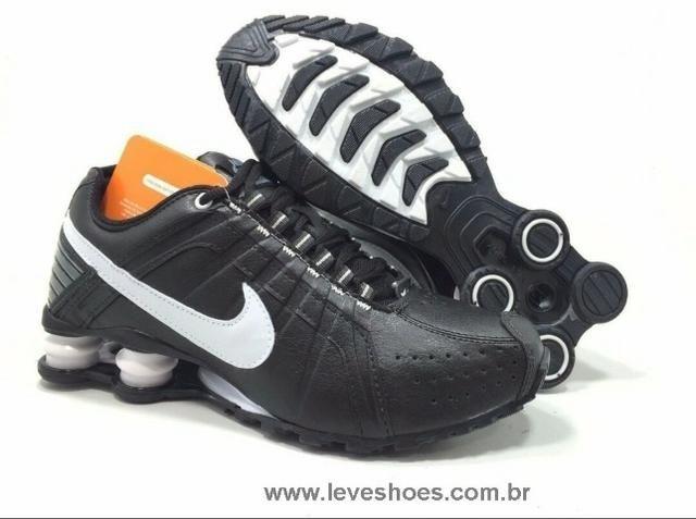 Tênis Nike Shox Júnior 4 Molas Masculino 189 - Foto 5