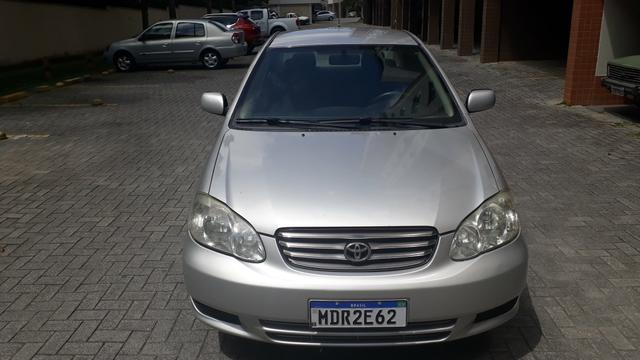 Raridade: Corolla XEI 2003/2003, câmbio manual,impecável, aceito troca - Foto 5
