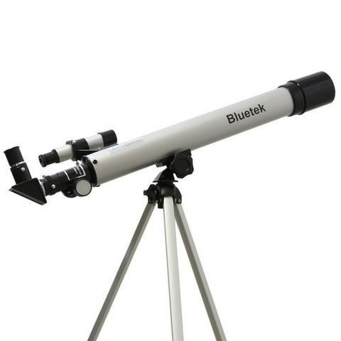 Telescopio Astronomico Refrator Profissional 50/100x Completo