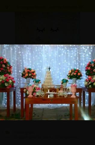 Aluguel cortina de led - Foto 2