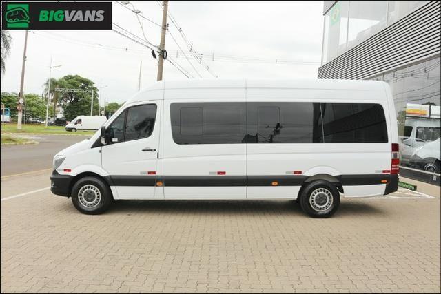 Sprinter 2018 415 Bigvan Executiva 19L Branca (4209) - Foto 13