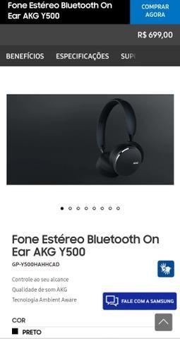 Headphone AKG - Y500 (fone de ouvido) - Foto 3