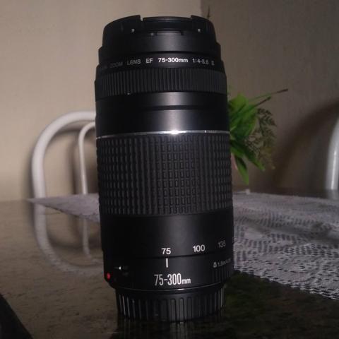 Lente Canon 75-300 - Foto 3