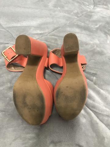 Sandália meia pata TAM 35 - Foto 4