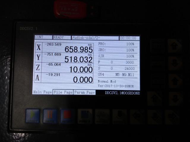 Router CNC spindle 3cv mesa de 1300x1600mm - estado de nova - Foto 2