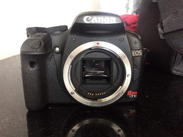 Câmera cânon
