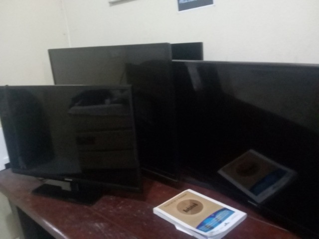 TVs com defeito