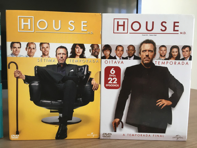 Coleção completa dvds House m.d - Foto 5