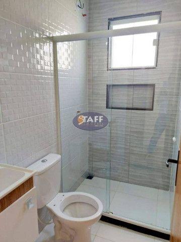 K- Casas lindas com 2 quartos, sendo 1 suíte, no Gravatá em Unamar - Foto 9